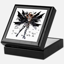 Butterfly Kisses Ebony N Ivory Keepsake Box