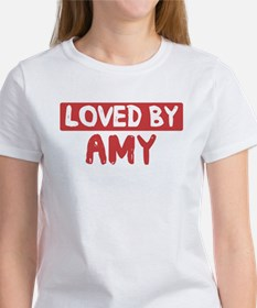 Loved by Amy Women's T-Shirt