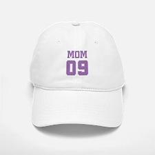 Purple Mom 09 Baseball Baseball Cap