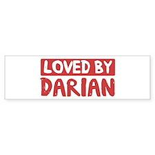 Loved by Darian Bumper Bumper Sticker