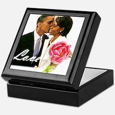 Barack & Michelle Love Keepsake Box