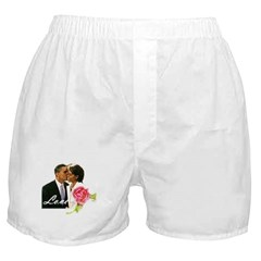 Barack & Michelle Love Boxer Shorts