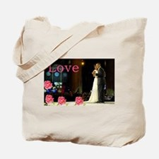 Barack & Michelle Love Tote Bag