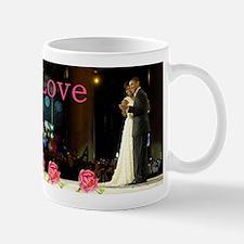 Barack & Michelle Love Small Small Mug