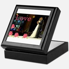 Barack & Michelle Love Keepsake Box