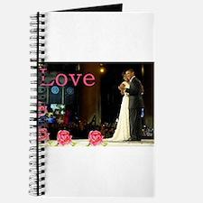 Barack & Michelle Love Journal