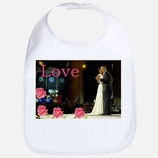 Barack & Michelle Love Bib