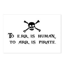 To Arr Is Pirate Postcards (Package of 8)