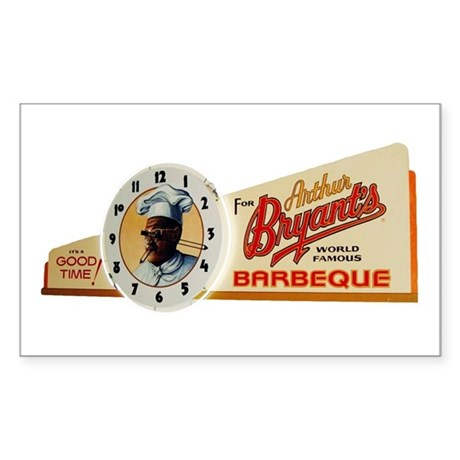 It's Time for Bryant's Rectangle Sticker