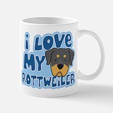I Love my Rottweiler Mug