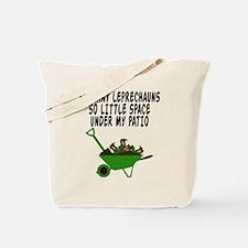 Funny Leprechaun Tote Bag