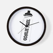 goalie fuel Wall Clock