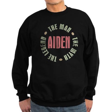 Aiden Man Myth Legend Sweatshirt (dark)