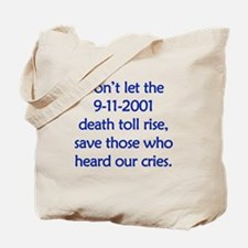 Save our heroes Tote Bag