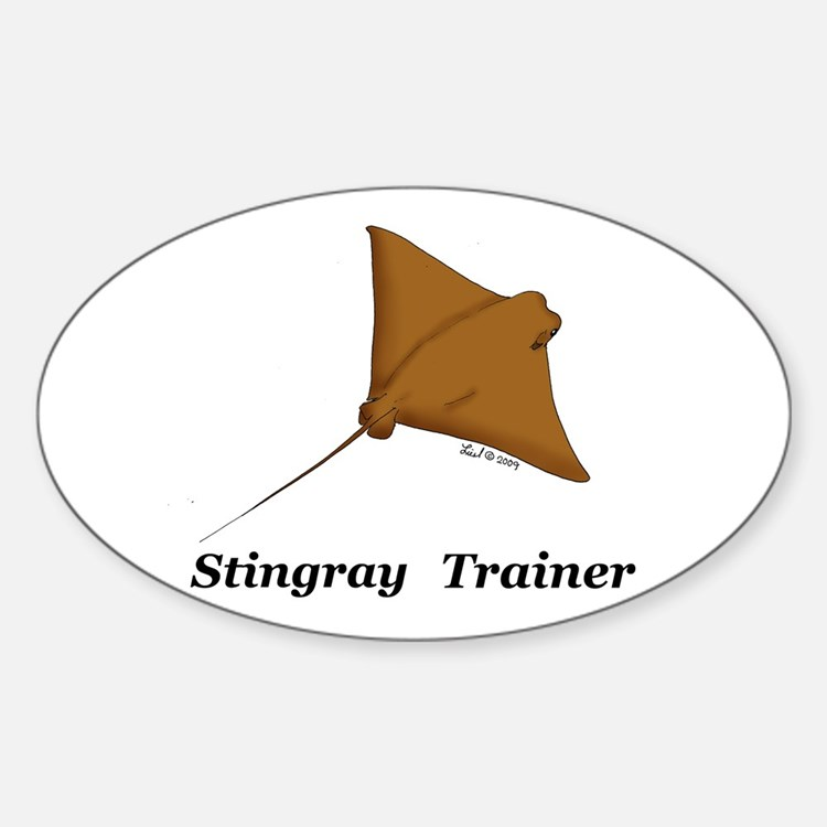 Stingray Trainer Oval Decal