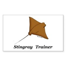 Stingray Trainer Rectangle Decal