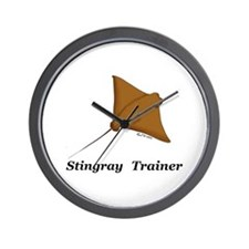 Stingray Trainer Wall Clock