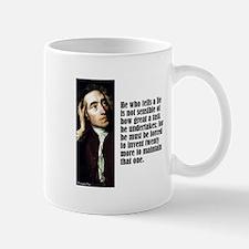 "Pope ""Tells a Lie"" Mug"
