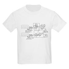Guitar Pickup Schematic T-Shirt
