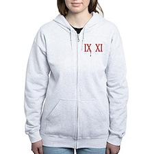 IX XI.....9 11 Zip Hoodie
