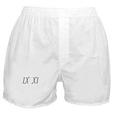 IX XI.....9 11 Boxer Shorts