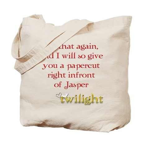 Twilight Papercut Jasper Tote Bag