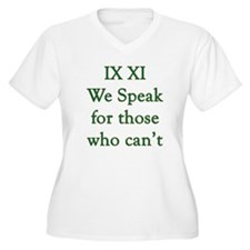 IX XI - speak T-Shirt