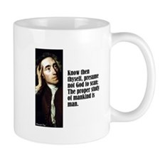 "Pope ""Know Thyself"" Mug"