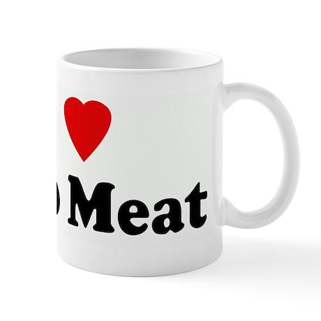 I Love Taco Meat Mug
