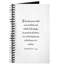 LEVITICUS 14:44 Journal