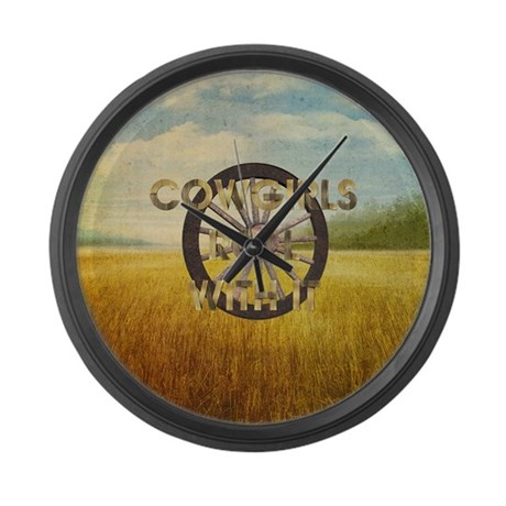 Time to Change Back Large Wall Clock