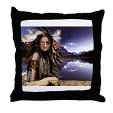 Native Winds Throw Pillow