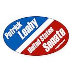 Senator Patrick Leahy Oval bumper sticker