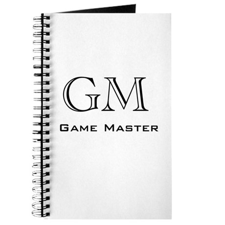 Game Master Journal