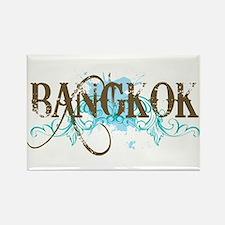 Bangkok Thailand Rectangle Magnet