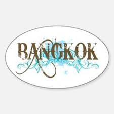 Bangkok Thailand Oval Decal