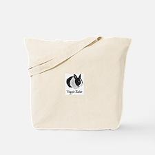 Veggie Eater Bunny Tote Bag