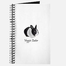 Veggie Eater Bunny Journal