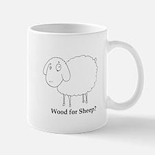 Wood for Sheep? Mug