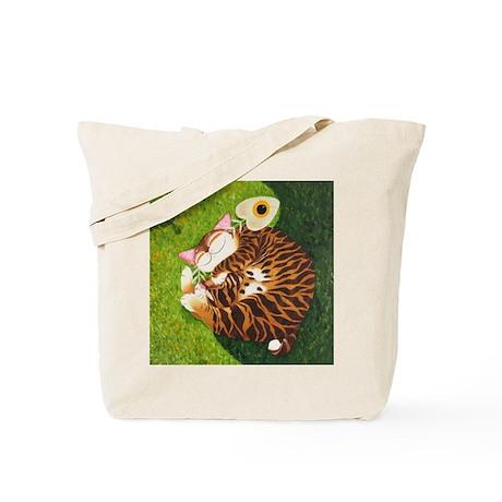 Cat Art~ Yin Yang Tote Bag