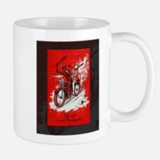 Devil on Motorcycle Mug