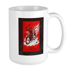 Devil on Motorcycle Mug