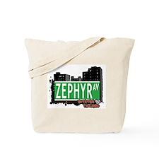 ZEPHYR AVENUE, STATEN ISLAND, NYC Tote Bag