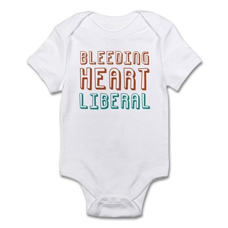 Bleeding Heart Liberal Infant Bodysuit