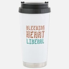 Bleeding Heart Liberal Stainless Steel Travel Mug