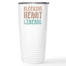 Bleeding Heart Liberal Thermos Mug