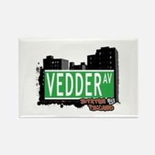 VEDDER AVENUE, STATEN ISLAND, NYC Rectangle Magnet