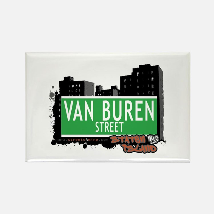 VAN BRUNT STREET, STATEN ISLAND, NYC Rectangle Mag