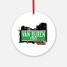 VAN BRUNT STREET, STATEN ISLAND, NYC Ornament (Rou