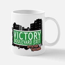 VICTORY BOULEVARD EXIT, STATEN ISLAND, NYC Mug